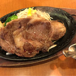 炭火焼ハンバーグカキヤス - 黒毛和牛リブロースステーキ 150g 税込2700円