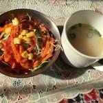 44952968 - サラダ・スープ