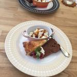 カフェ ティーリュージュ - デザートセット