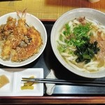 44957651 - うどんミニ天丼セット