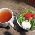 44958140 - スープ&サラダ