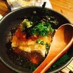 Kitchen和 - 自家製豆腐のウニ乗っけ
