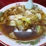 こばや食堂 - スープ入り焼きそば並 650円 (^^@