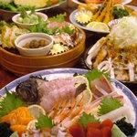 赤たぬき - 宴会料理1例