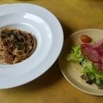 44960362 - タコと冬野菜のパスタランチ