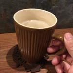 どんぐりの木 - ホットカフェオレ