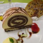 44961611 - ティラミス風ロールケーキ