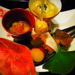 Kaisekichayamizuoto - 前菜_201411_夕食