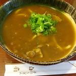 白扇 - 和牛スジ肉カレーうどん950円(税込)