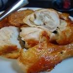 花の木 - 鶏の丸焼、半身