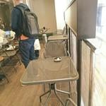 ブレンズコーヒー - 喫煙可能なテラス席