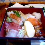 44963853 - 海鮮丼アップ