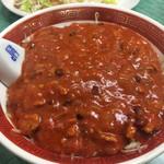 華光軒 - じゃじゃ麺4辛800円➕辛味料100円