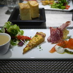 オステリア ブッビーノ - とある日のランチ(前菜)