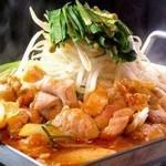 コリアンキッチン あんじゅ - ちりとり鍋:辛いダシがたまらない‼︎しめは雑炊がオススメ‼︎