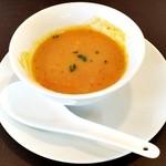 航旅莉屋 - 野菜のポタージュスープ 全景