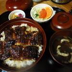 鰻の千代幸 - 料理写真:うな丼山@2,000