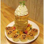 ブリーズ カフェ - タワーパンケーキ