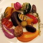 イタリア料理 La sette - 前菜(お野菜のプレート)