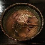 44968978 - ボンゴレ亭 貝汁そば(三宮)