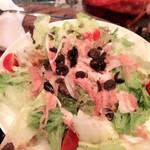 アルフヘイム - 生ハムのサラダ