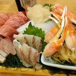ひかり寿司 - お決まりの刺身盛(4人前)