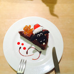 サンデーブランチ - ひつじのショーンのラズベリーガトーショコラ