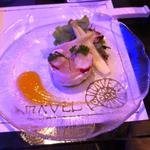 アマーヴェル - 冷たい前菜:オマール海老のスフレ仕立て