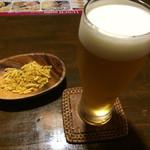 タルカリ - 生ビールとつまみ