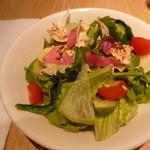 ユデロ 191フロム アル・ケッチァーノ - セットのサラダは鮮度が良いですね~。
