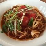 プライム太一 - トマトと海鮮のスパゲティ