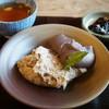すや - 料理写真:そばがき(810円)