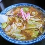 釜彦 - スープ入焼きそば 750円 (^ω^) 旨いです(^^b