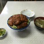 美好食堂 - ソースカツ丼950円