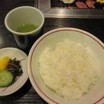 肉料理 阿蘇 - ごはん 200円