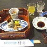 漁火亭 - 季節酒 前菜物彩々