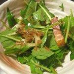 漁火亭 - サラダ/混ぜたトコ