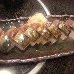 蔵の美食館 北八方 - 鯖寿司