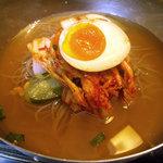 4498921 - 「こだわりの冷麺とミニ土古里丼セット」冷麺