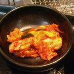 土古里 - 「こだわりの冷麺とミニ土古里丼セット」キムチ