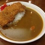 れすとらん 浪花亭 - H.27.7.14.昼 カツカレー 780円