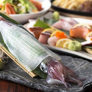 魚は魚市場から。