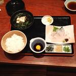 おいでん家 - 料理写真:宇和島風 鯛めし御膳
