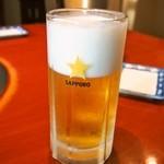松尾ジンギスカン - 生ビール