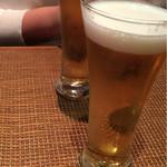 44988995 - 今日2回目の、とりあえずビール