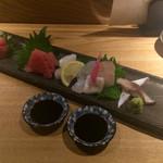 okatotoki - 鮮魚盛り合わせ5種
