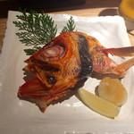 okatotoki - 金目鯛の塩焼