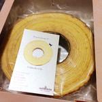 パティスリー カシュカシュ - バームクーヘン3センチ厚(900円)