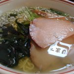 麺点飯 広州 - 塩ラーメン.