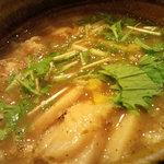 つけ麺 えん寺 - ベジポタ肉入り
